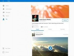 Twitter ��� Windows 10 ������� ����� ����������